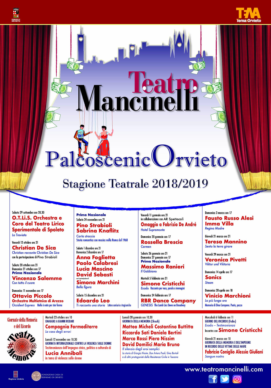Spettacoli teatro Orvieto
