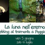 La luna nell'Eremo : trekking notturno lungo la Fiora